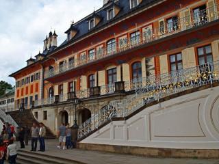Замок Пильниц — летняя резиденция саксонского короля