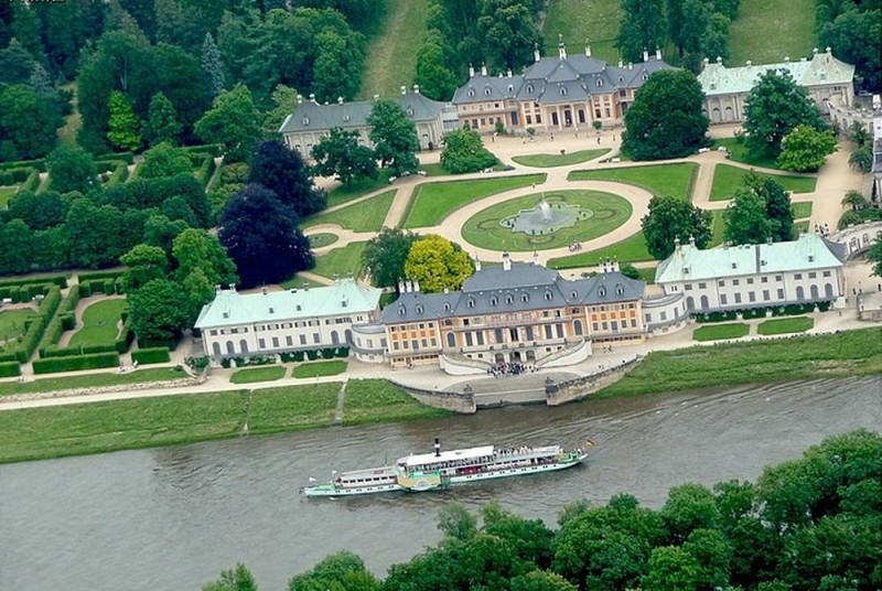 Замок Пильниц (Schloss Pillnitz)