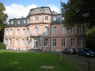 Замок Йегерхоф в Дюссельдорфе