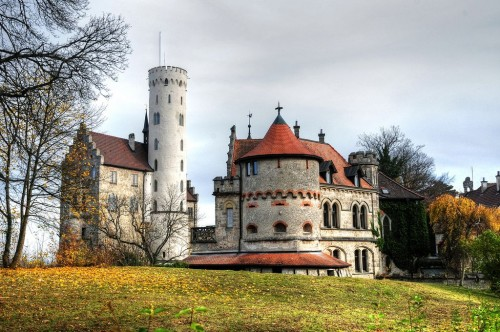 Замок Лихтенштейн (Schloss Lichtenstein)