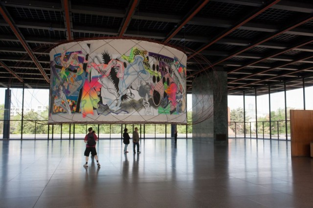 Новая национальная галерея (Neue Nationalgalerie), Берлин