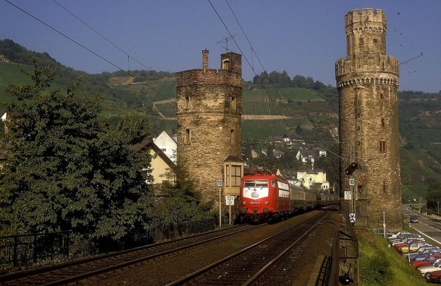 Обервезель (Oberwesel) Германия
