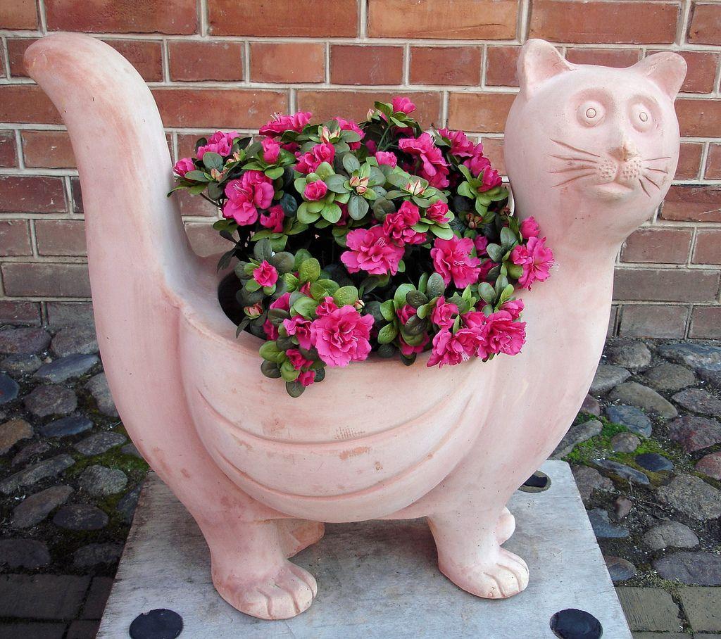 Для сада из керамики своими руками 17