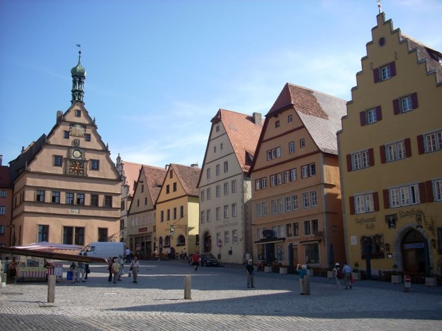 Ротенбург-на-Таубере (Rothenburg ob der Tauber)
