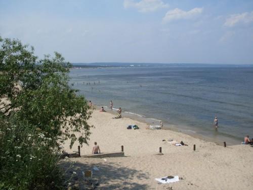 Пляж, Гданьск