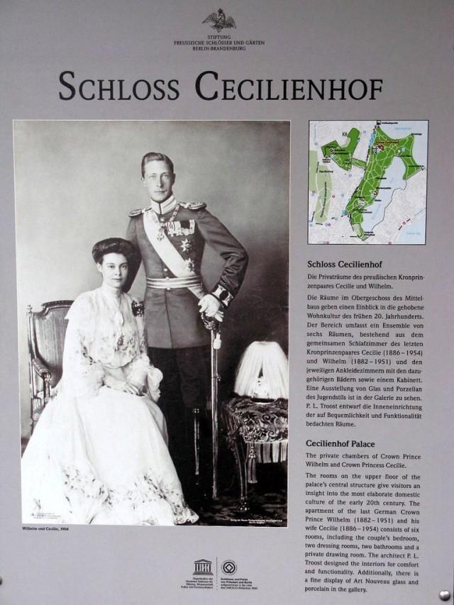 Дворец Цецилиенхоф (Cecilienhof)