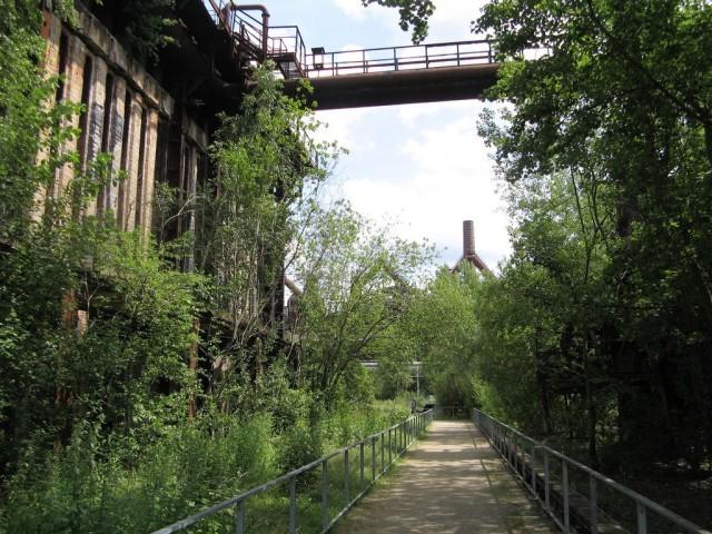 Металлургический завод в Фёльклингене (Völklinger Hütte)