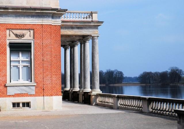 Мраморный дворец (Marmorpalais), Новый сад