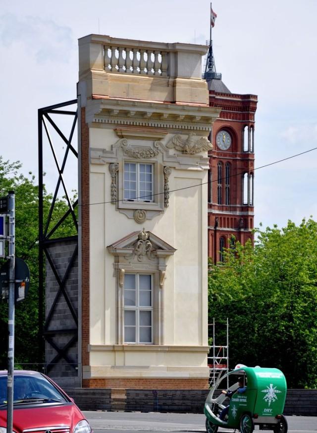 Фрагмент Берлинского Городской дворец (Berliner Stadtschloß)