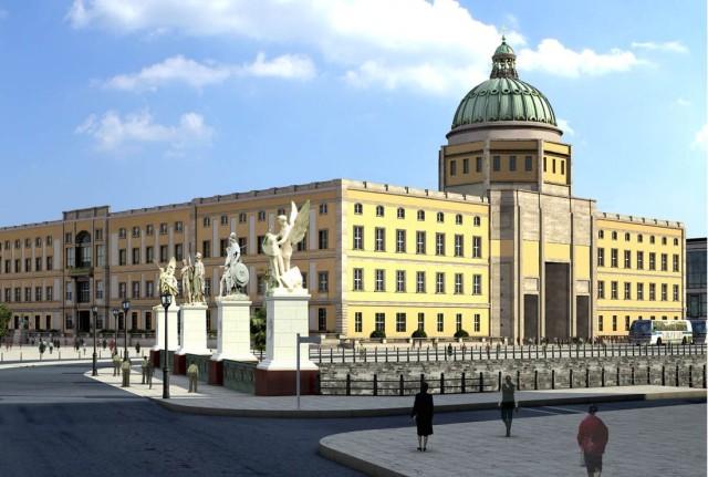 Проект реконструкции  Берлинского Городского дворца (Berliner Stadtschloß)