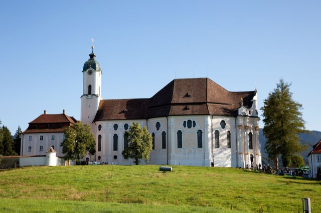 Паломническая церковь в деревне Вис