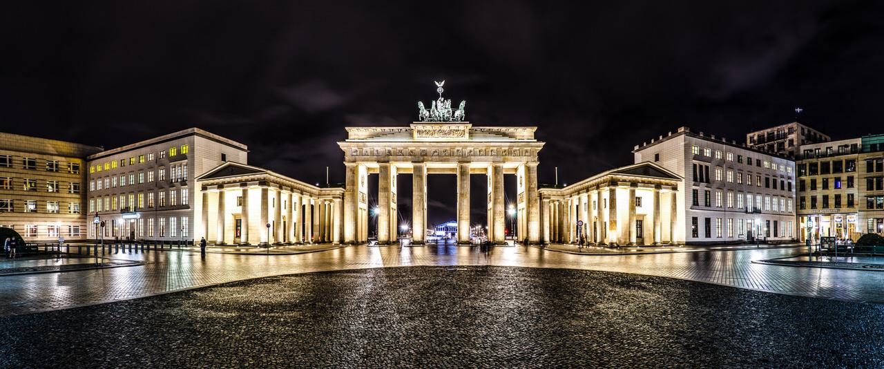 Бранденбургские ворота (Фото Jean Claude Castor)