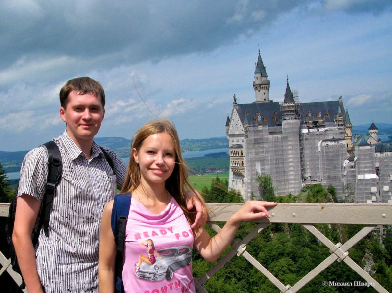 Мы около замка Нойшванштайн