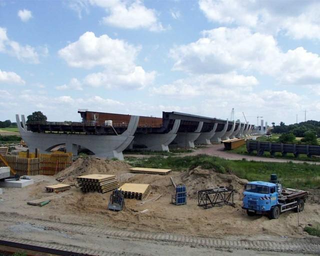 Магдебургский водный мост (Kanalbrücke Magdeburg)