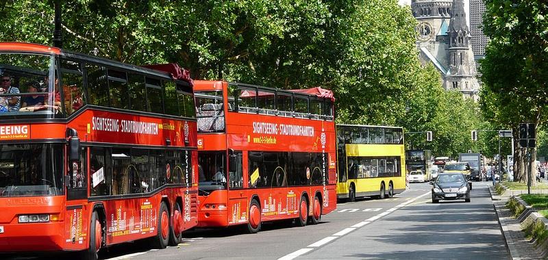 Экскурсионные автобусы в Берлине