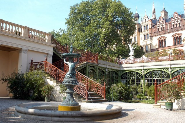 Шверинский замок (Schweriner Schloss)