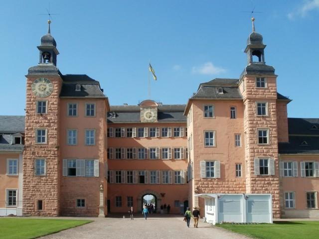 Шветцингенский дворец (Schloss Schwetzingen)