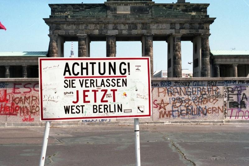 Берлинская стена (Berliner Mauer, официально Antifaschistischer Schutzwall)