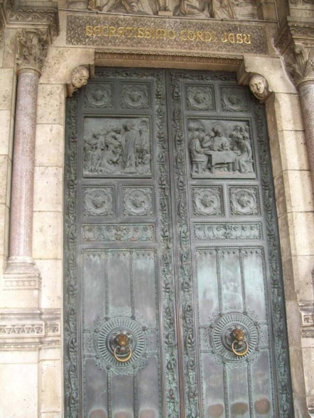 Двери, обитые железом