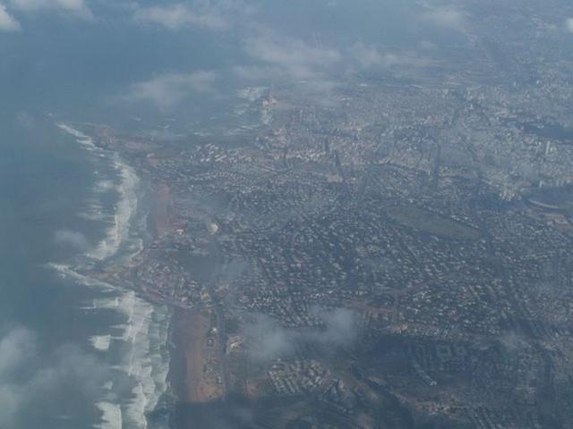 Вид на Касабланку с воздуха.