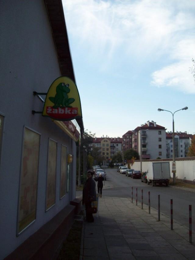 Эмблема продуктовых магазинов в Польше