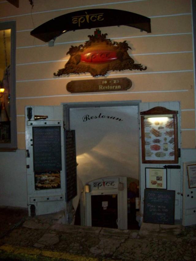 Рестораны в подвальчиках