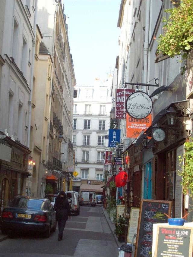 «Обжорная» улица, Париж.