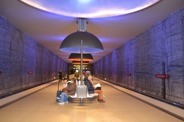 Самая красивая станция мюнхенского метро