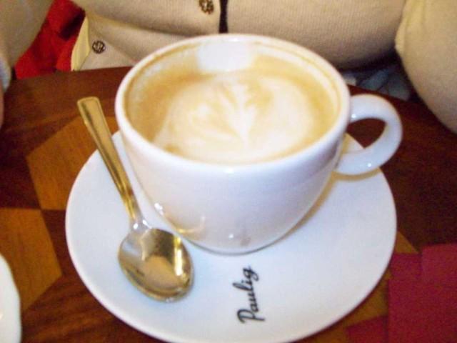 Рисунок в кофейной чашке