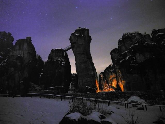 Эксерские камни - Экстернштайне (Externsteine)