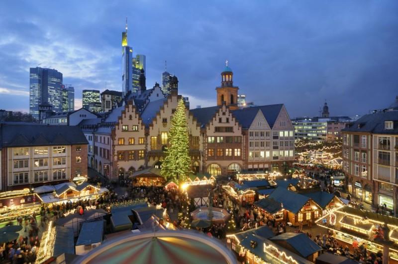 Рождественский базар во Франкфурте-на-Майне