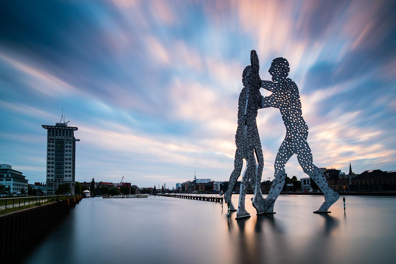Прогулка по Берлину. Уличные скульптуры