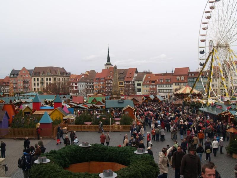 Рождественский базар в Веймаре
