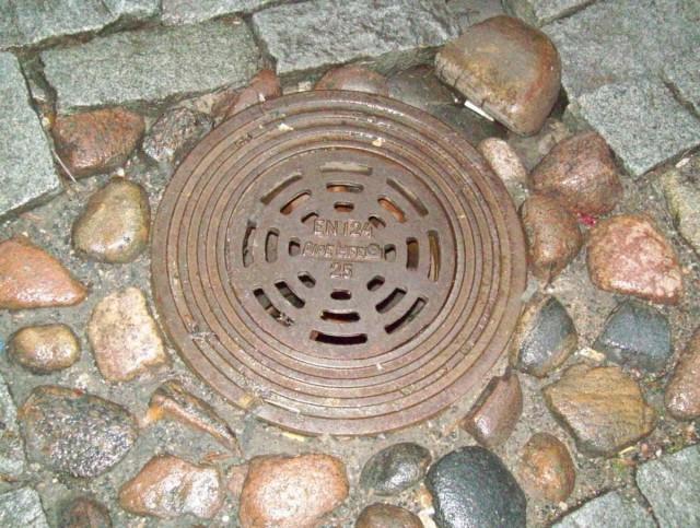 Это люк дождевой канализации