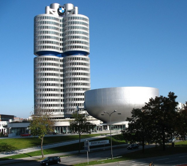 Мюнхенский Музей БМВ