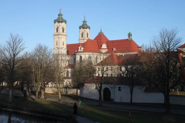 Аббатство Оттобойрен (Kloster Ottobeuren)