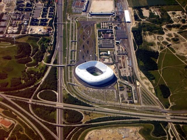 Инфраструктура вокруг стадиона «Альянц Арена»
