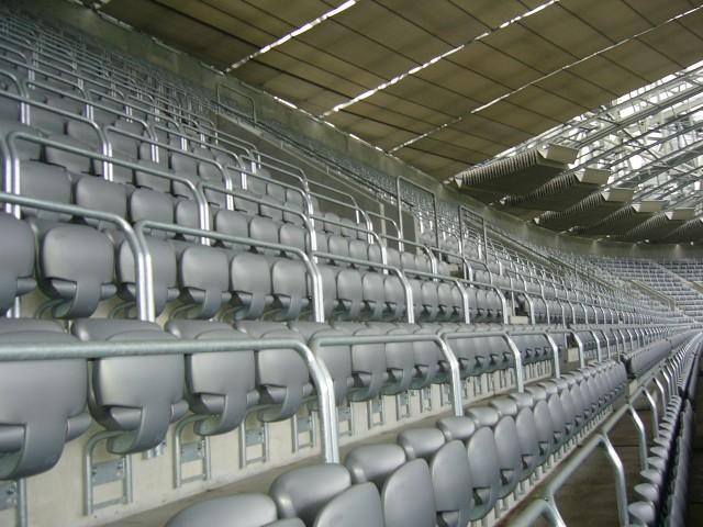 Футбольный стадион «Альянц Арена» (Allianz Arena), внутренний вид