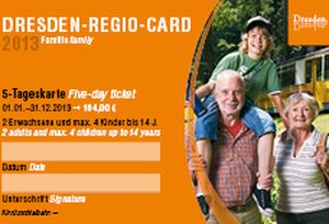 Дрезден-регио-кард (Dresden Regio Card)