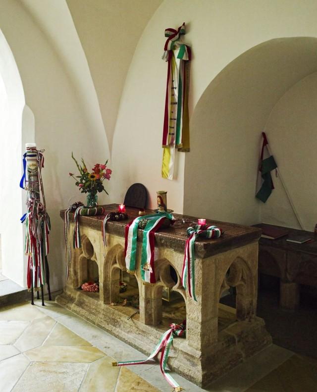 Место захоронения Гизелы Венгерской - королевы и аббатисы