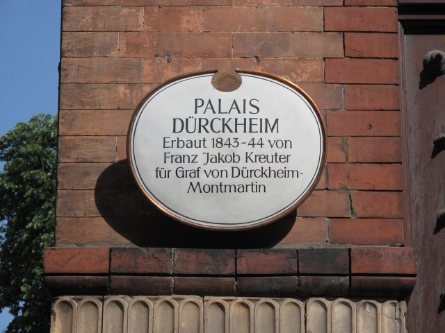 Дворец Дюркхайм (Palais Dürckheim)