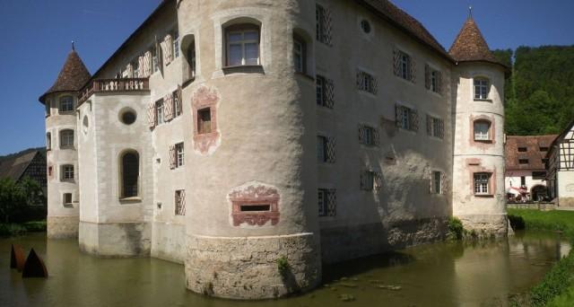 Замок Глатт (Wasserschloss Glatt)