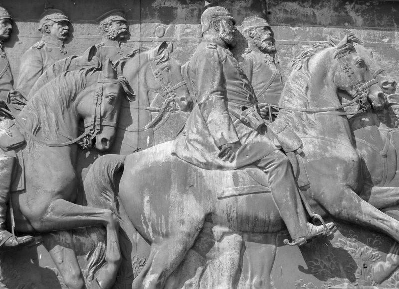 Рельеф с изображением батальной сцены