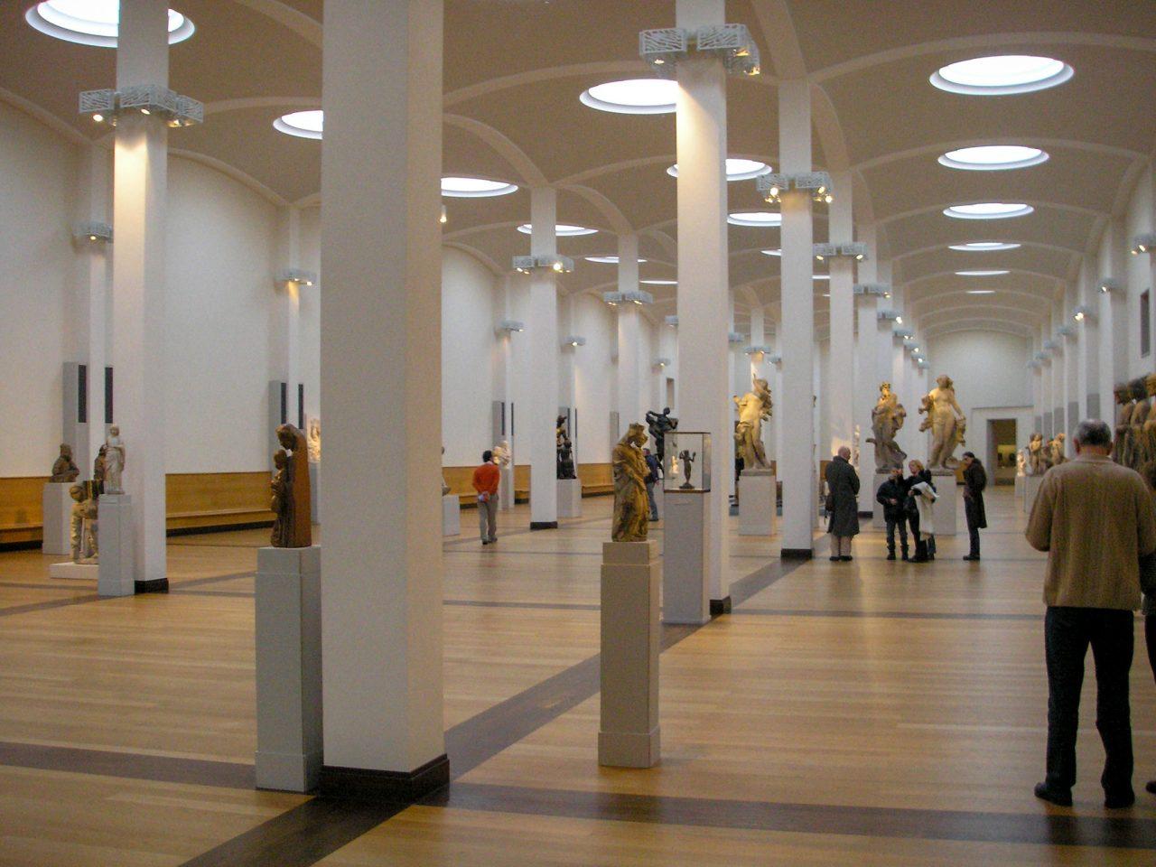 Главный зал картинной галереи