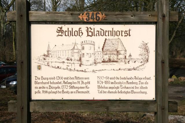 Замок Бладенхорст (Schloss Bladenhorst)