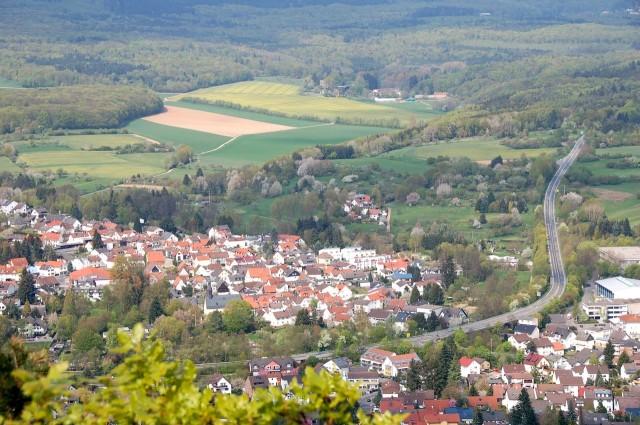 Вид с замка Эппштайн (Burg Eppstein)