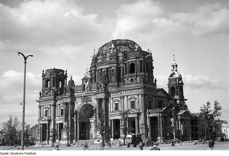 Собор в 1945 году