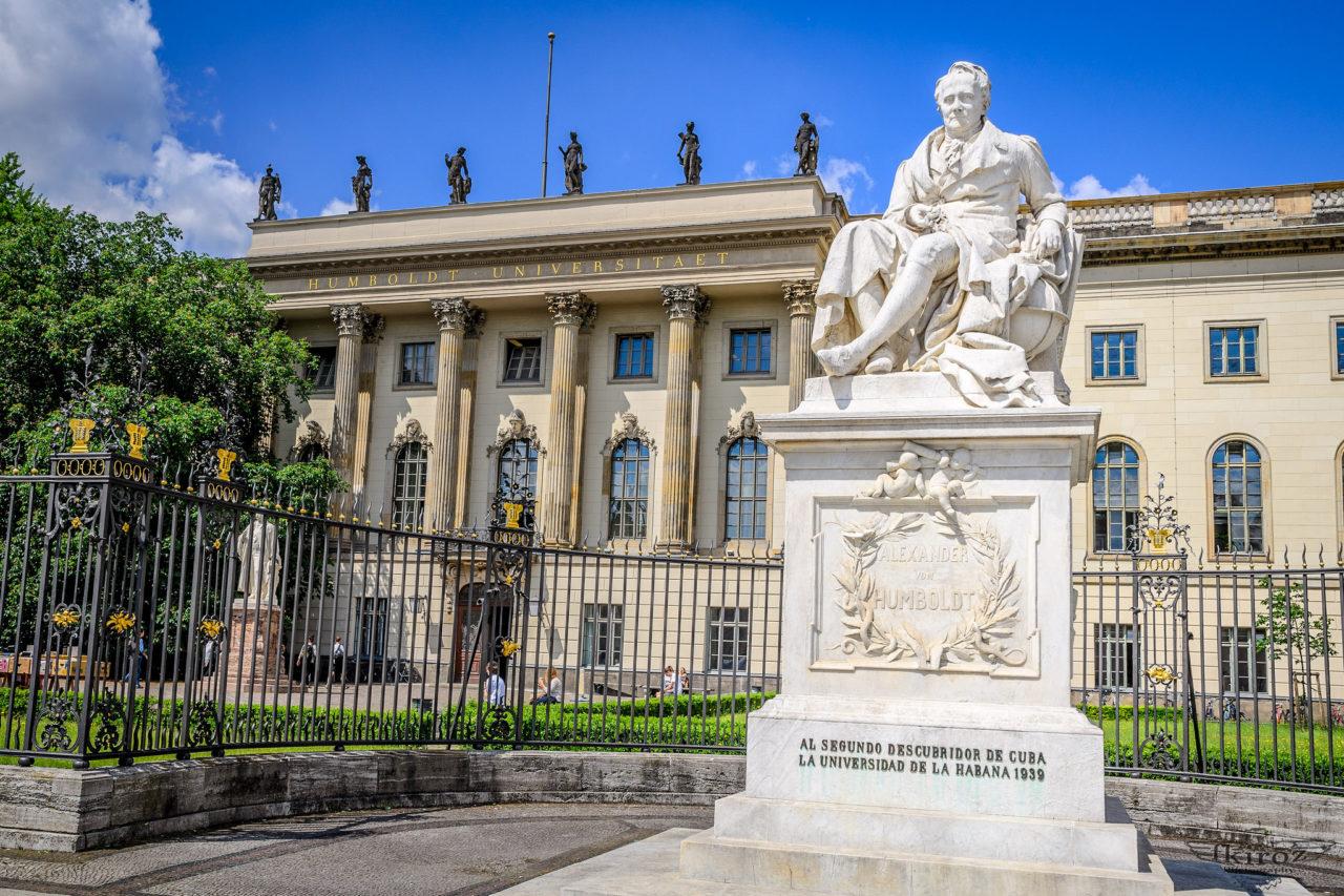 Памятник Александру Гумбольдту