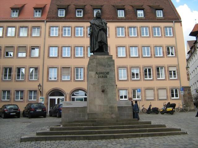 Памятник Альбрехту Дюреру, Нюрнберг