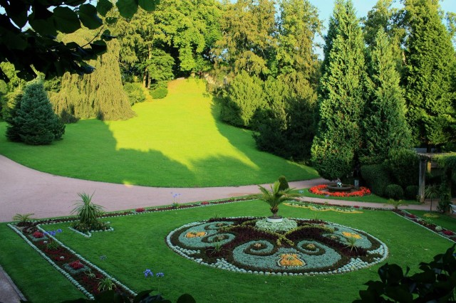 Парк замка Альтенштайн
